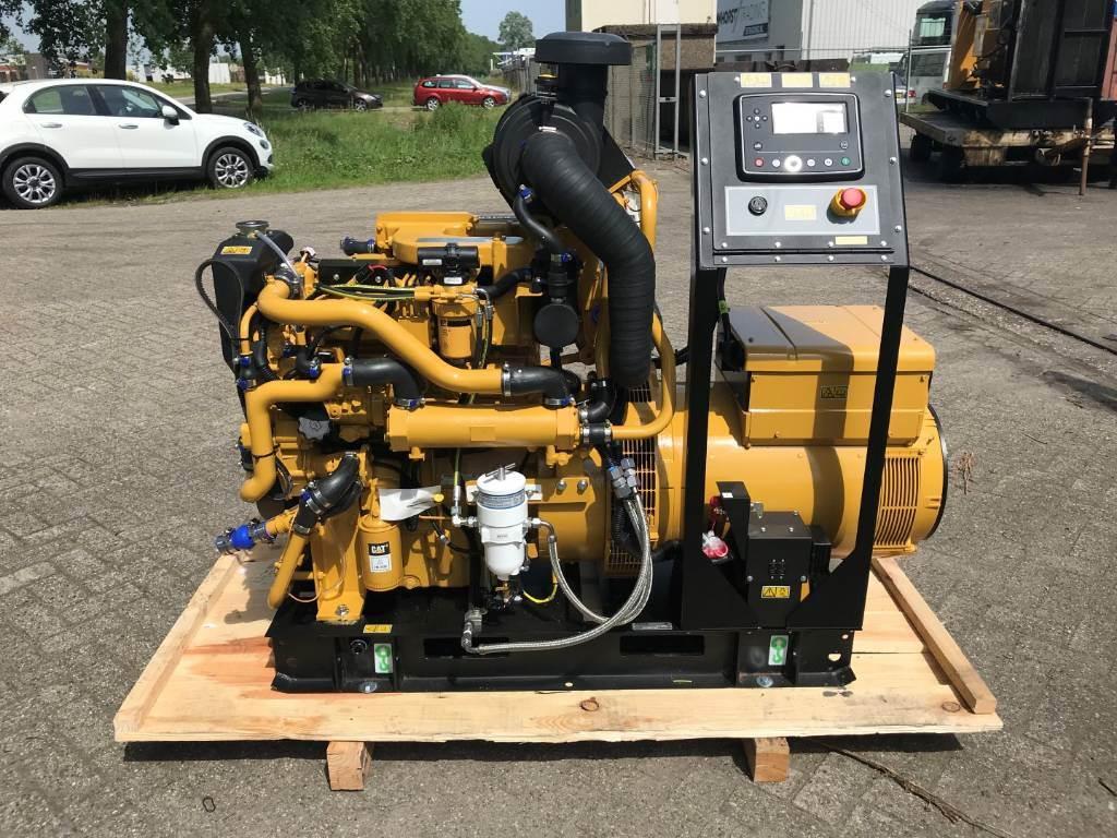 Caterpillar C4.4 - Marine Generator Set 108 kVa - DPH 105670, Marine auxiliary engines, Construction