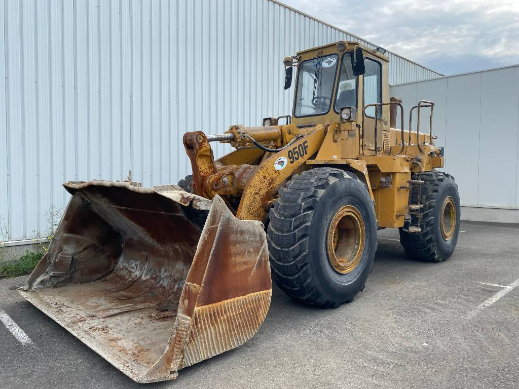 Caterpillar 950 F, Wheel loaders, Construction