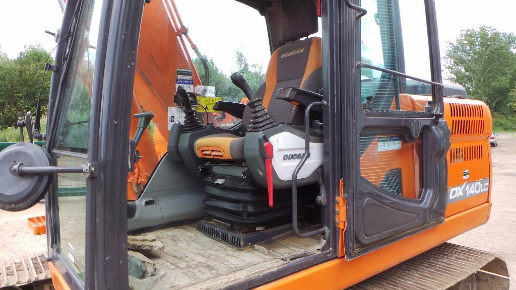Doosan DX 140 LC-3, Crawler excavators, Construction
