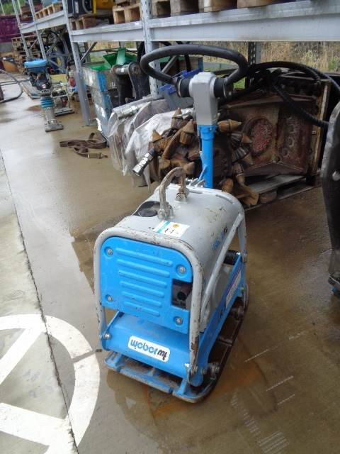 Weber CR 3, Plate Compactors, Construction Equipment