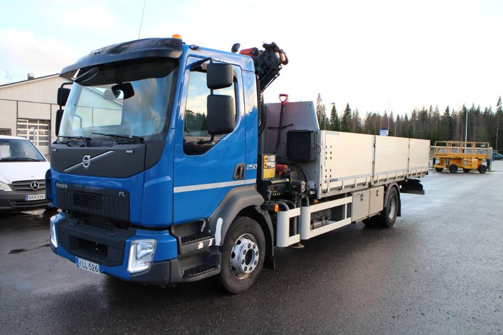 Volvo FL 42 R, Nosturiautot, Kuljetuskalusto