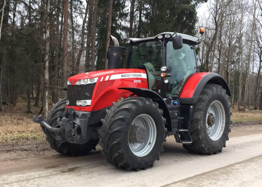 Massey Ferguson 8690, Tractors, Agriculture