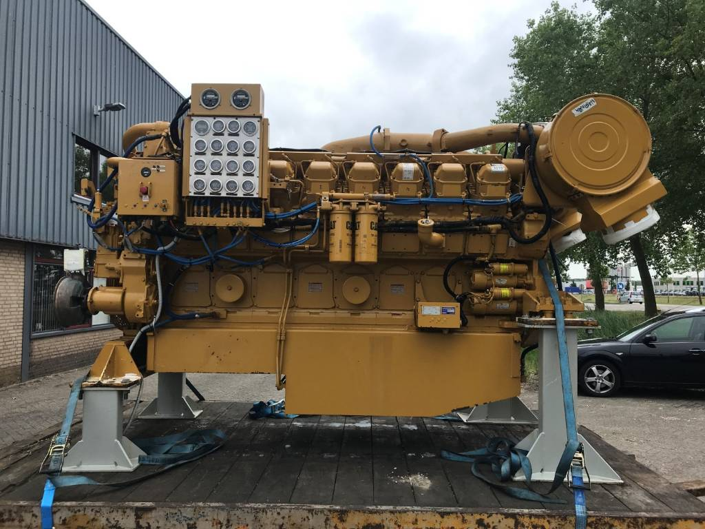 Caterpillar 3516 - Marine Propulsion - 29Z, Marine Applications, Construction