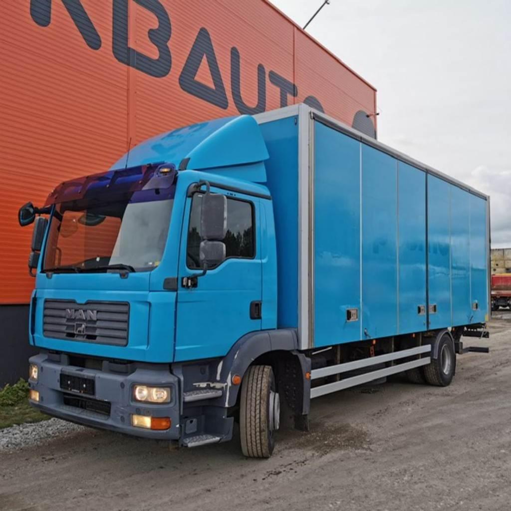 MAN TGM 15.280 4x2, Box trucks, Trucks and Trailers