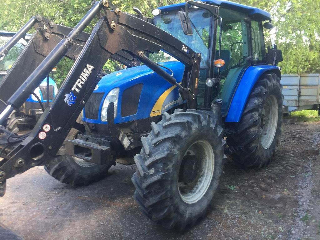 New Holland T5070 DC PS AC AS, Traktorit, Maatalous