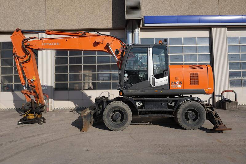 Hitachi EW190W, Wheeled Excavators, Construction Equipment