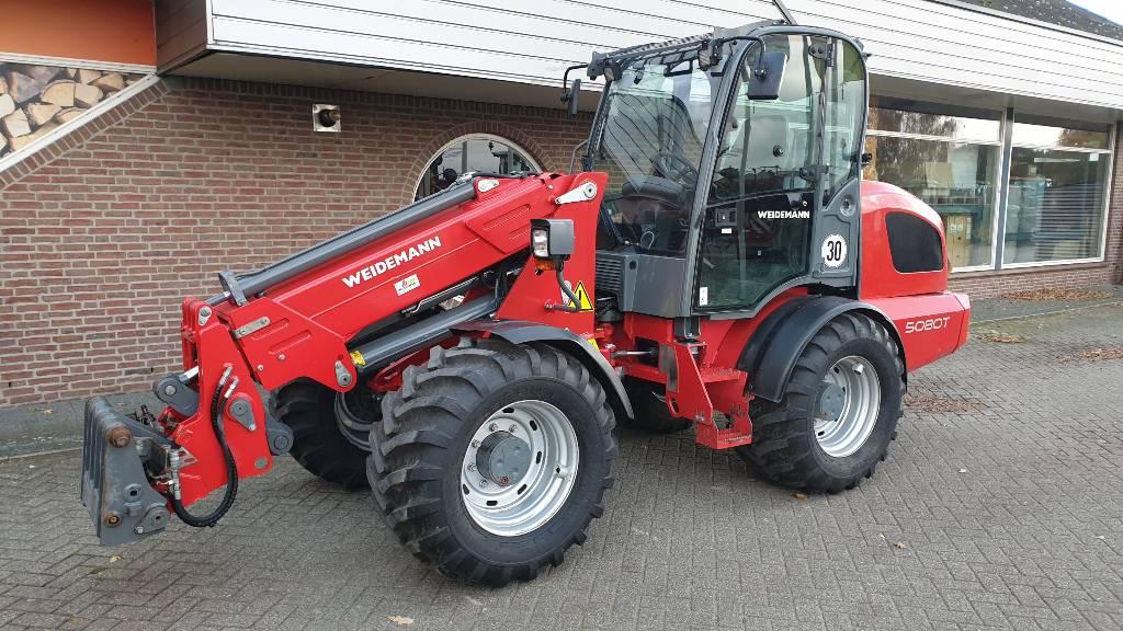 Weidemann 5080T, Multi purpose loaders, Agriculture