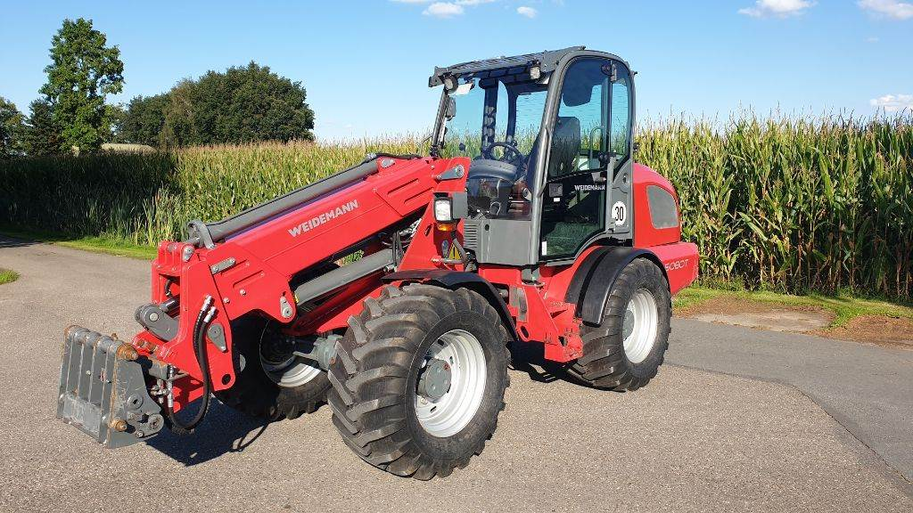 Weidemann 5080T, Multi purpose loaders, Agriculture