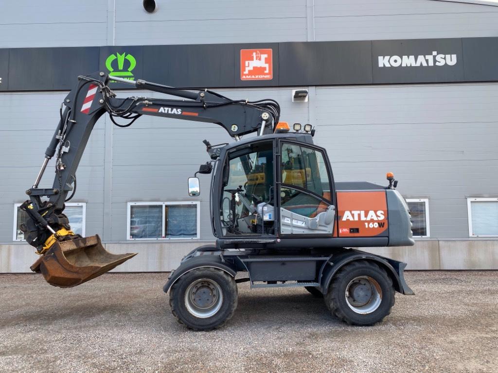 Atlas Atlas 160W, Wheeled Excavators, Construction Equipment