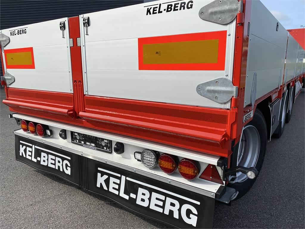 Kel-Berg S600H Jumbotrailer m uttrekk PÅ LAGER, Planhengere, Transport