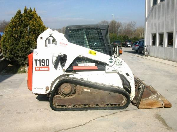 Bobcat T 190, Skid Steer Loaders, Construction Equipment