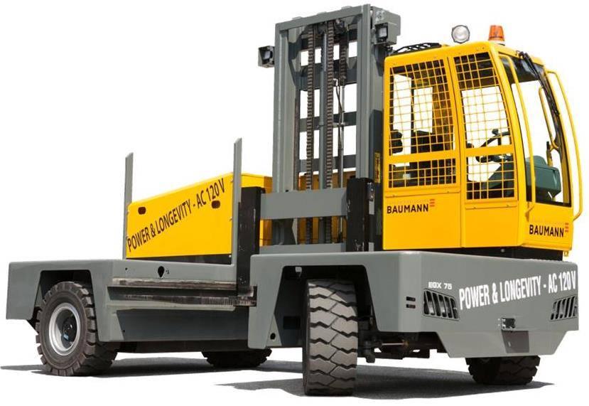 Baumann EGX70/14/63TR, Electric forklift trucks, Material Handling