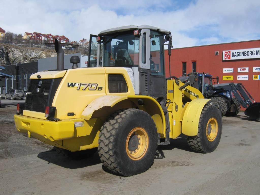 New Holland W 170 B, Hjullastere, Anlegg