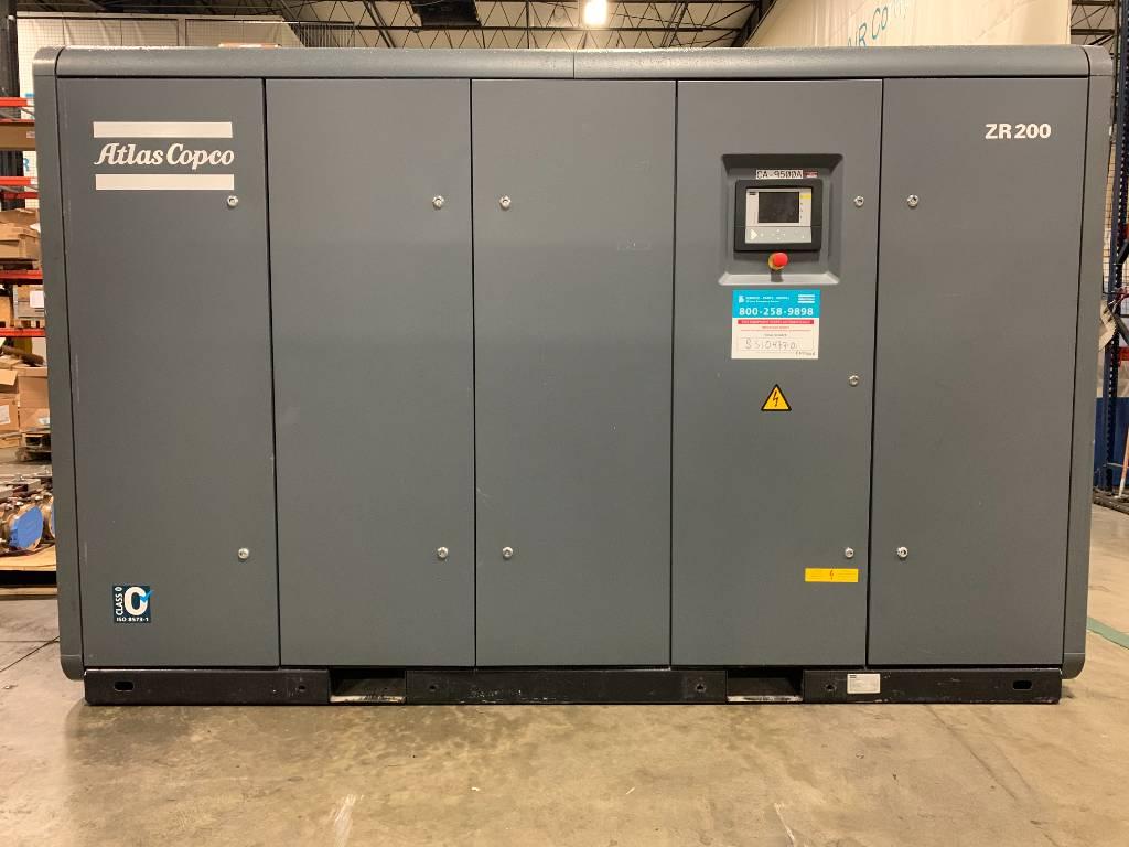 Atlas Copco ZR 200, Compressors, Industrial