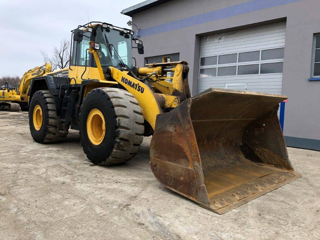 Komatsu WA470-6, Wheel Loaders, Construction Equipment