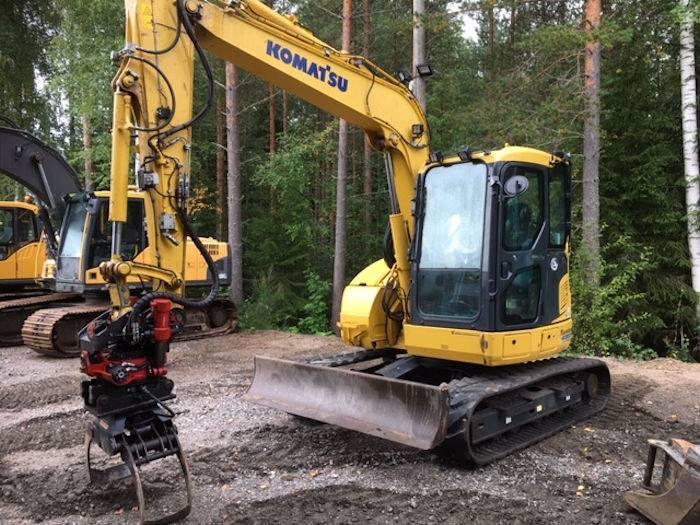 Komatsu PC78US-10, Mini excavators  7t - 12t, Construction Equipment