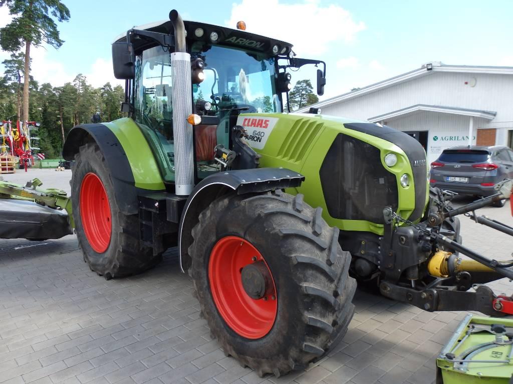CLAAS Arion 640 Cebis, Traktorid, Põllumajandus