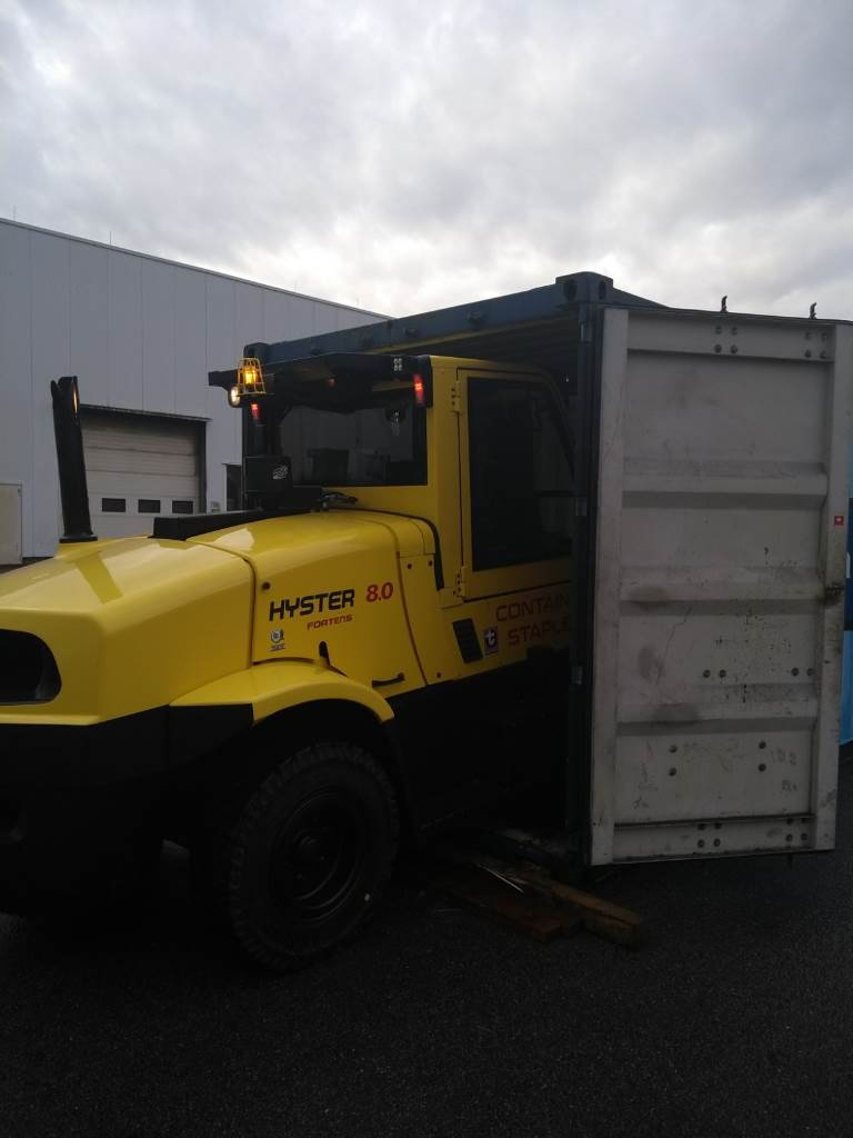 Hyster H8.0FT9-Containerfähig, Diesel counterbalance Forklifts, Material Handling