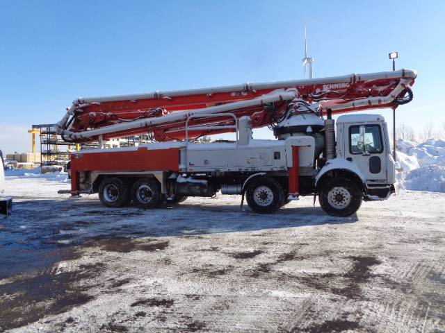 Schwing 2525H-6 / S45SX, Boom Pumps, Construction Equipment