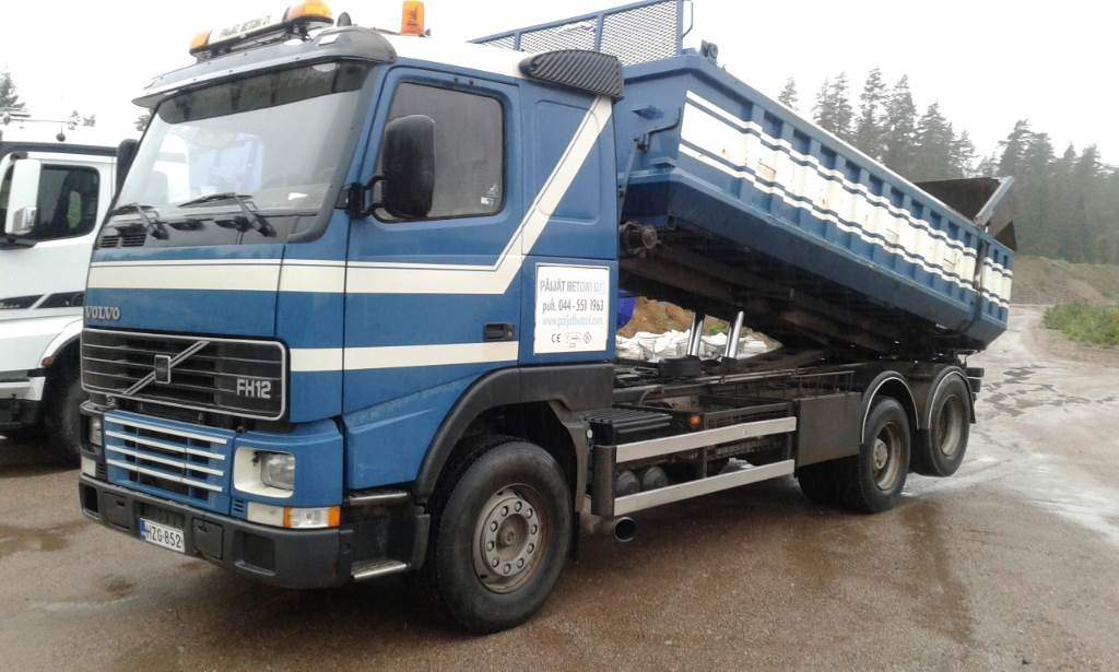Volvo FH12-FH62RA 6X2, Cable lift demountable trucks, Transportation