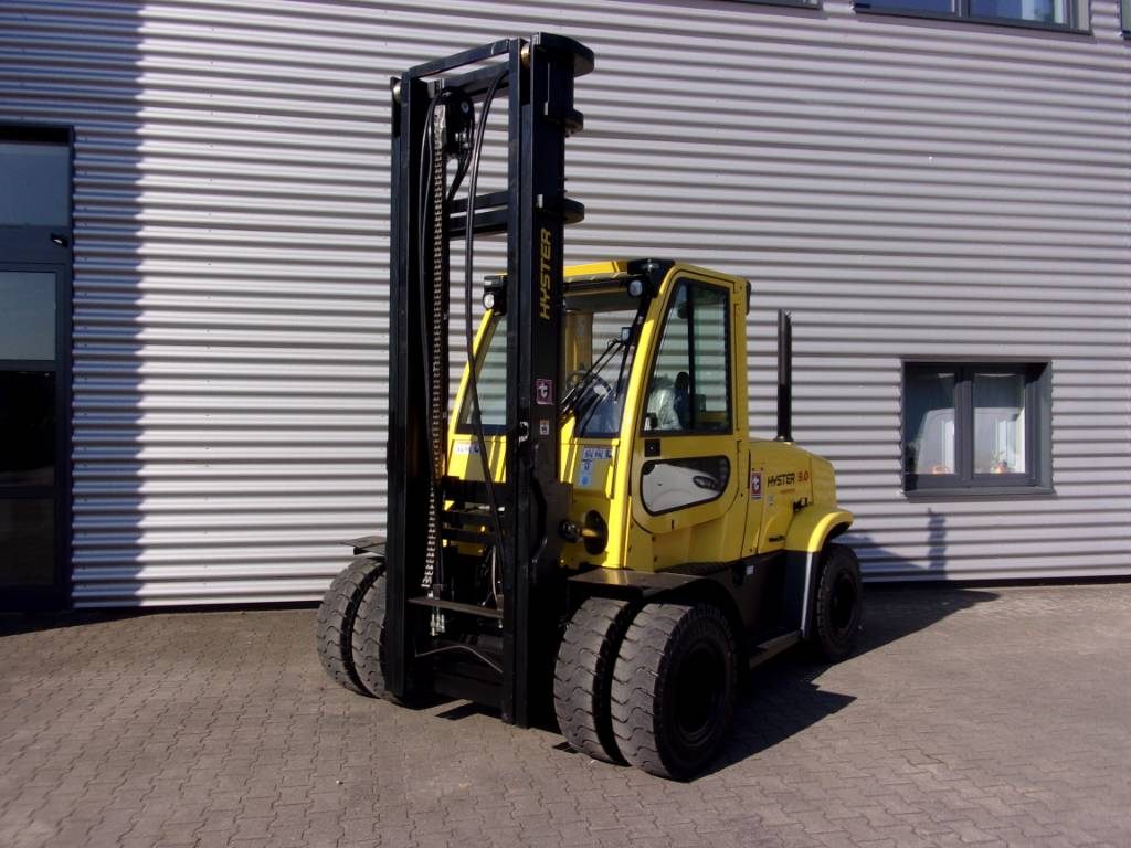 Hyster H9.0FT-6, Diesel counterbalance Forklifts, Material Handling