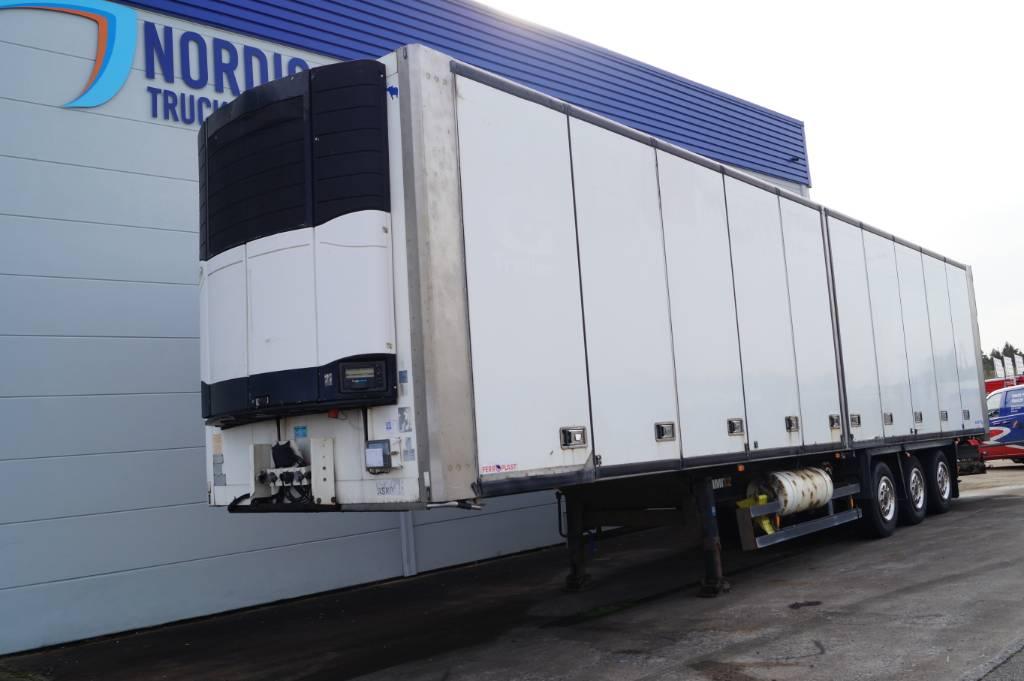 Schmitz Sk024 Kyl och frys trailer ÖP sida, Refrigerated Trailers, Trucks and Trailers