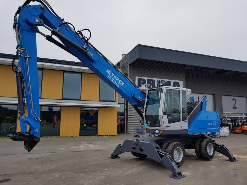 Fuchs MHL 331 D, Waste / Industry Handlers, Construction Equipment