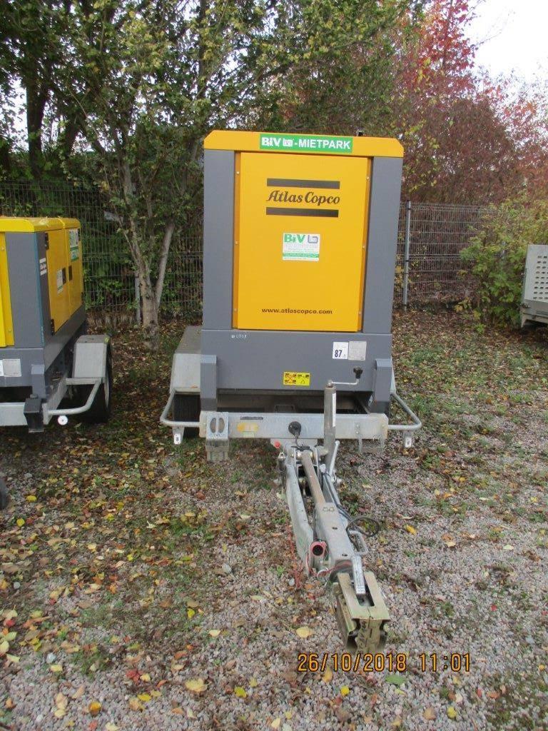 Atlas Copco QAS 60, Diesel Generatoren, Baumaschinen