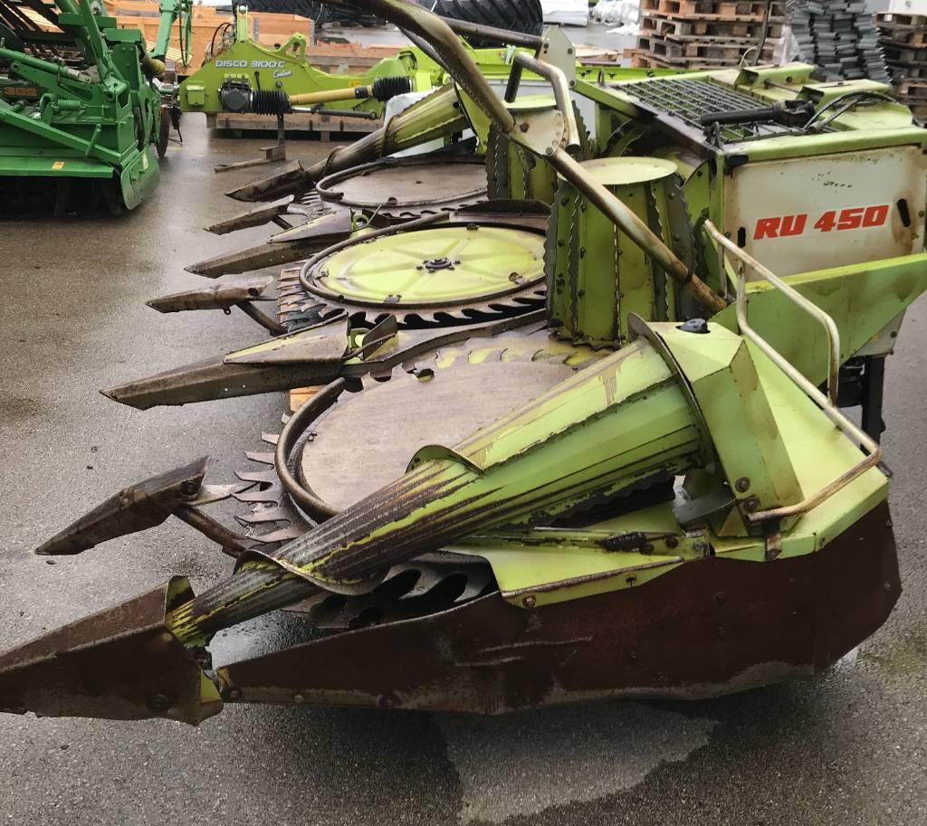 CLAAS RU 450, Ajosilppurit, Maatalouskoneet