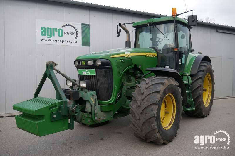 John Deere 8320 (9778 hours), 40 km h Powershift, air brakes