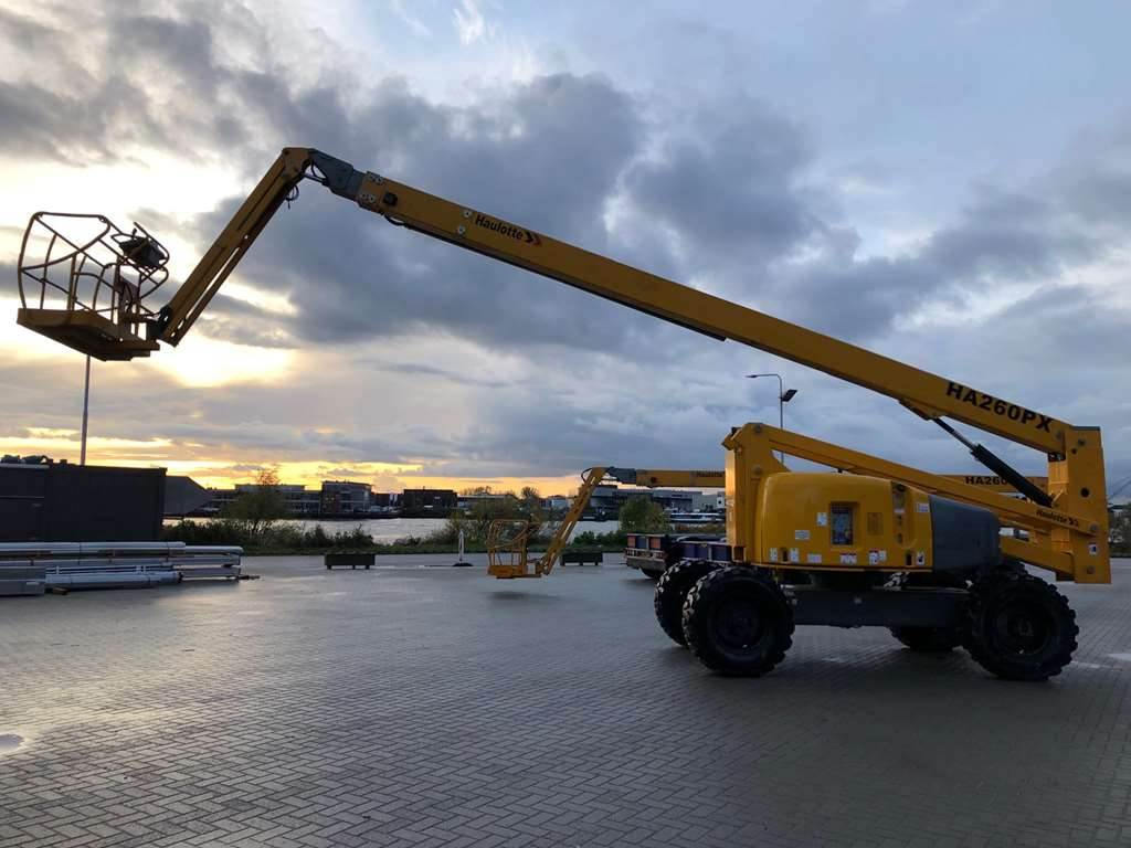 Haulotte HA 260PX, Articulated boom lifts, Construction