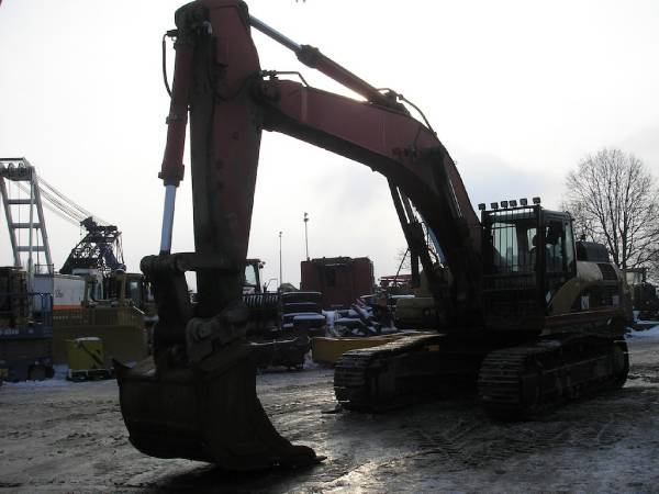 Caterpillar 330DLME, Crawler excavators, Construction