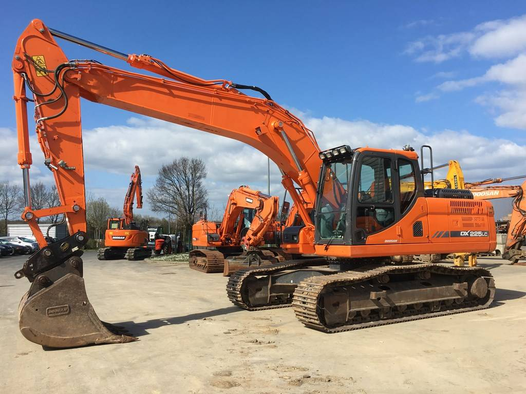 Doosan DX 225 LC-3, Crawler Excavators, Construction Equipment
