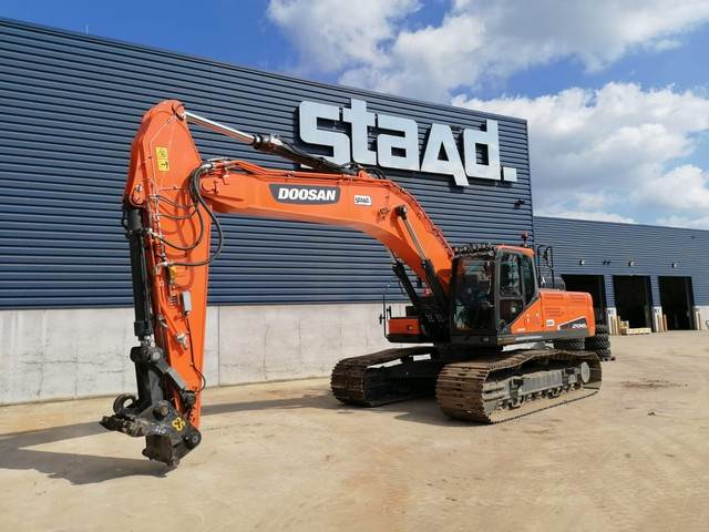 Doosan DX340LC-5, Crawler Excavators, Construction Equipment