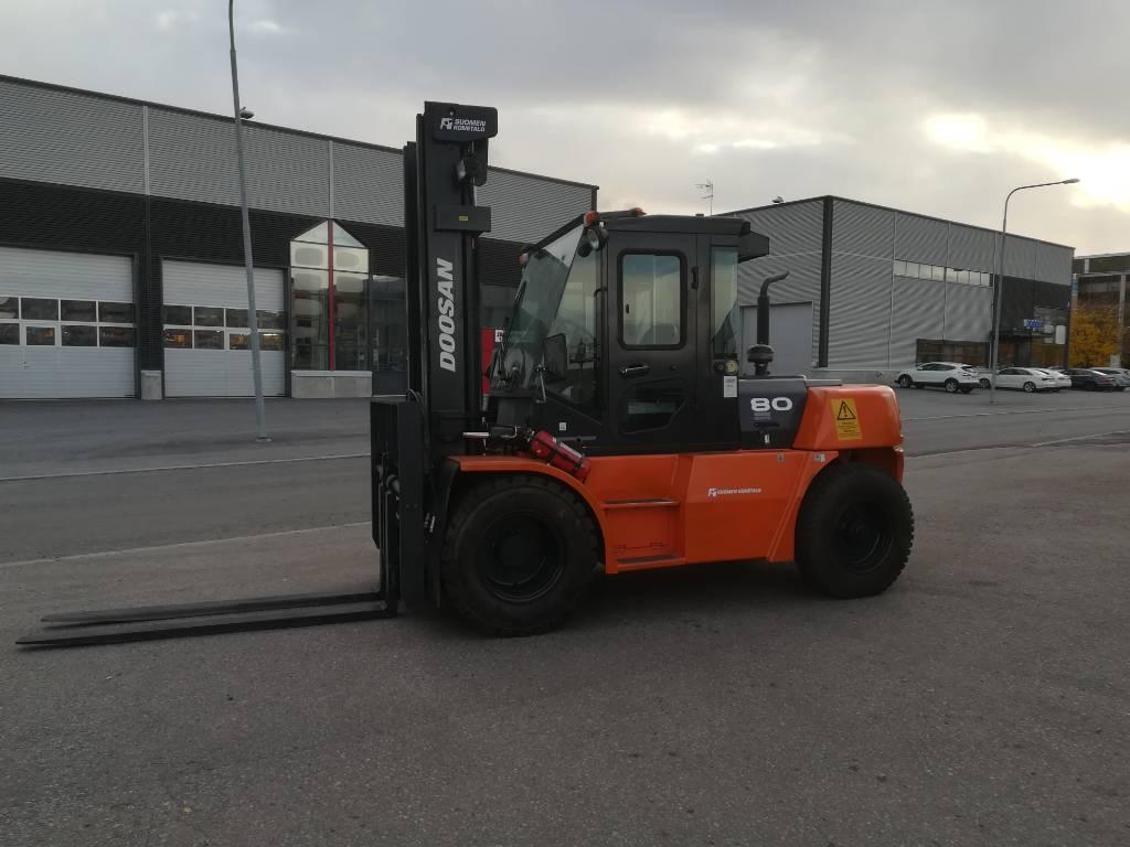 Doosan D80 S-5, Dieseltrukit, Materiaalinkäsittely