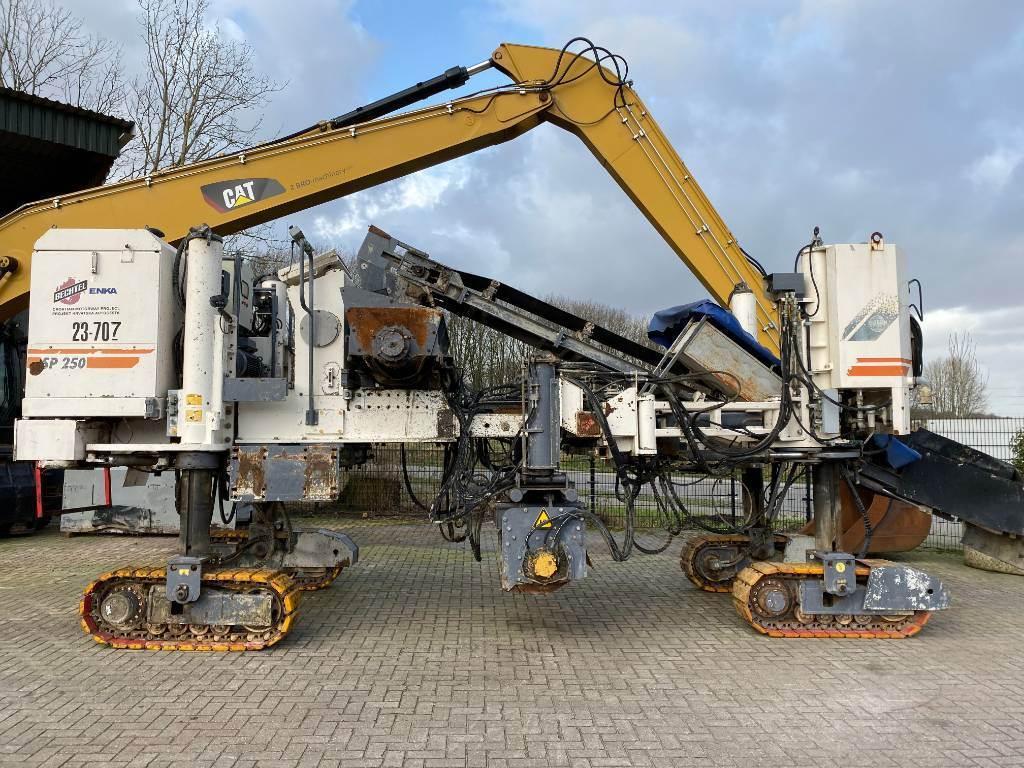 Wirtgen SP 250 TOP CONDITION!!, Asphalt cold milling machines, Construction