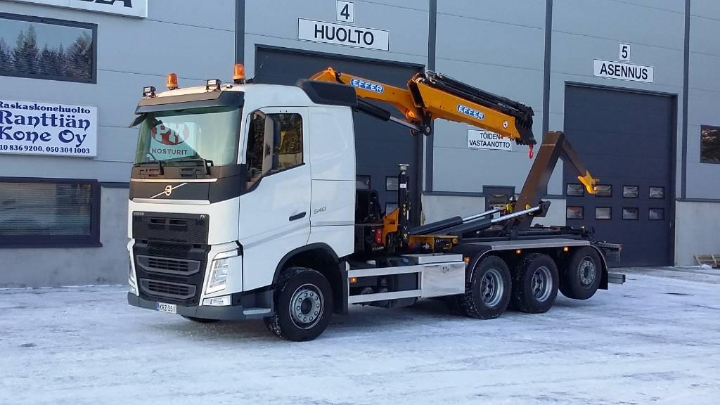Volvo FH540 8x4, Nosturiautot, Kuljetuskalusto