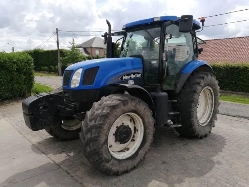 New Holland TS125A, Tractoren, Landbouw