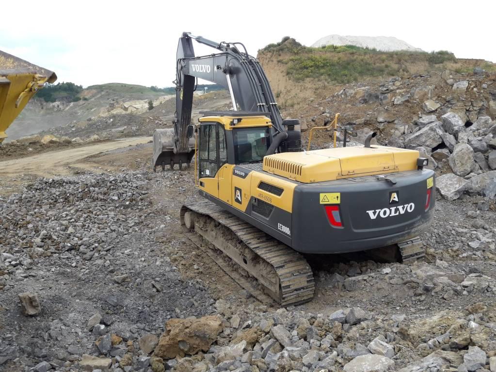 Volvo EC 300 D L, Crawler excavators, Construction