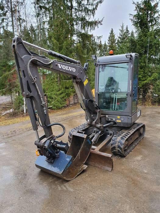 Volvo EC27C, Mini Excavators <7t (Mini Diggers), Construction Equipment