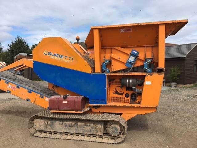 Guidetti c11, Mobile crushers, Construction