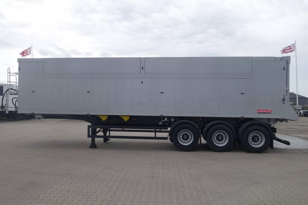 Langendorf - Fabriksny 55 kubiks tipptrailer, Dump Trailers, Trucks and Trailers