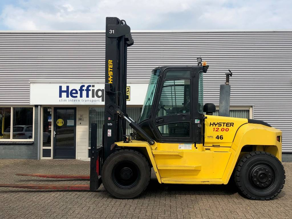 Hyster H12XM6, Diesel counterbalance Forklifts, Material Handling