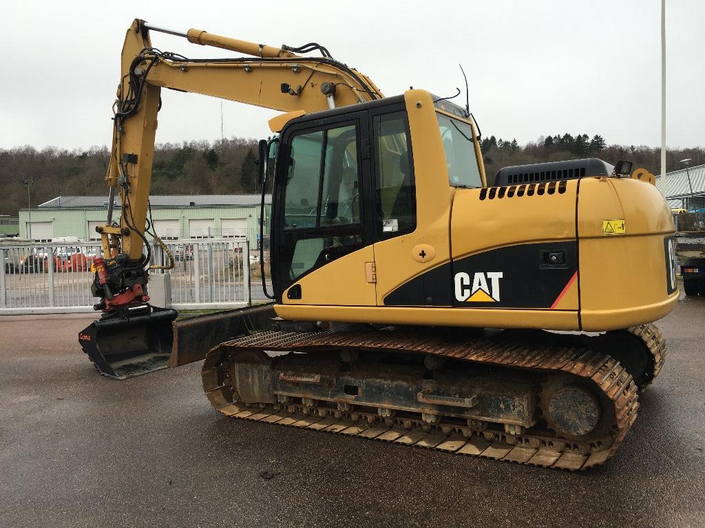 Caterpillar 312 C L, Crawler excavators, Construction