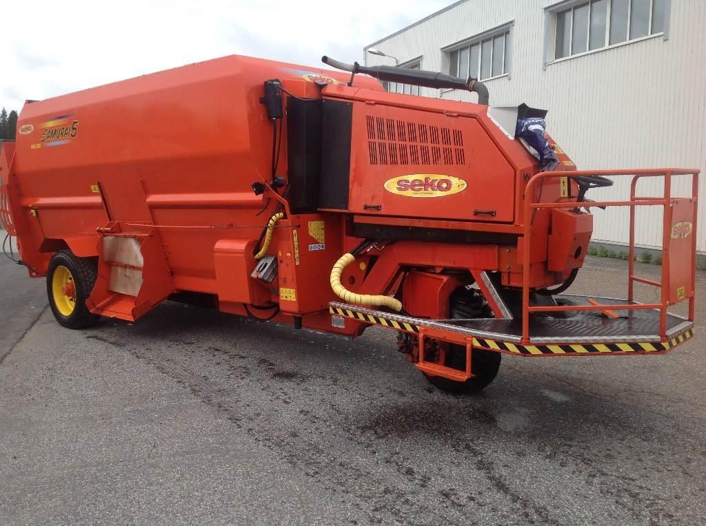 Seko Mobile 600/200, Rehuvaunut, Maatalous