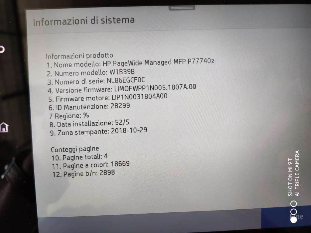 HP P77740Z, Multifunctionals, Extra