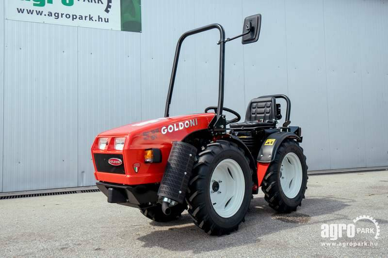 Goldoni Base 20SN, Articulated tractor, 20 HP Lombardini