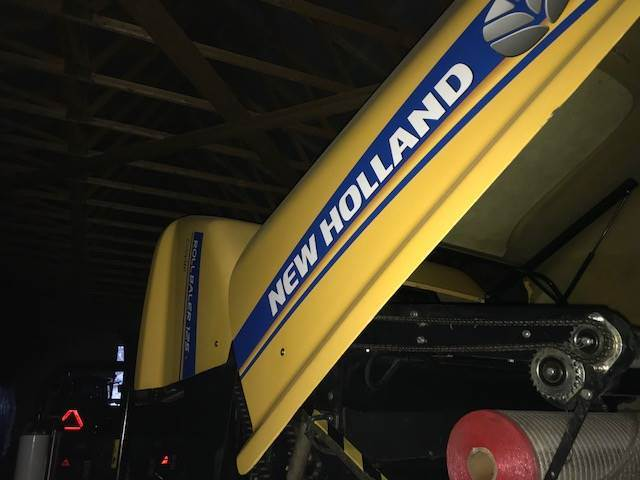 New Holland 125, Round balers, Agriculture