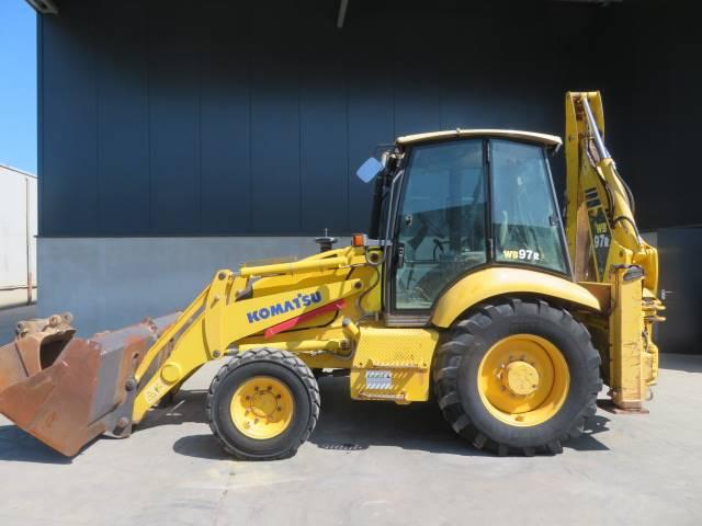 Komatsu WB97R, Backhoe loaders, Construction
