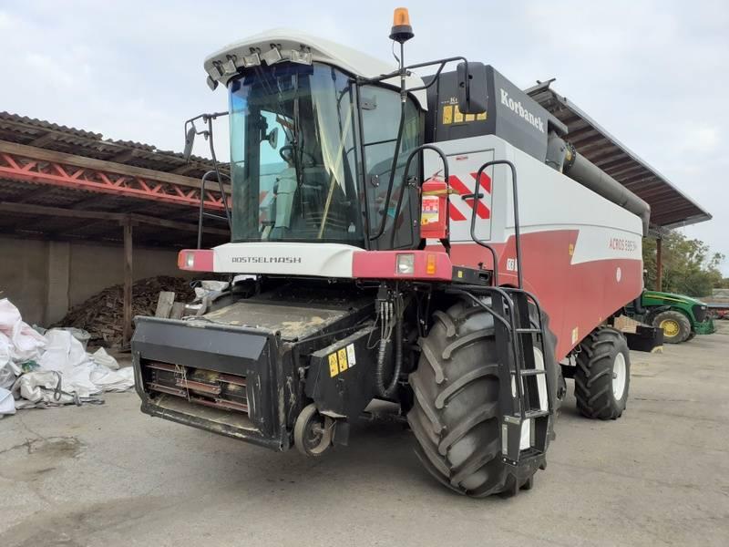 Rostselmash Acros 595 Plus, Kombajny zbożowe, Maszyny rolnicze